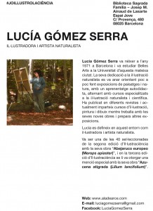 """Exposición """"Copsant la natura"""" de Lucia Gómez Serra"""
