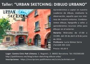 """Taller: """"Urban Sketching: Dibujo urbano"""""""