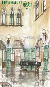 Conservatorio de música de Barcelona
