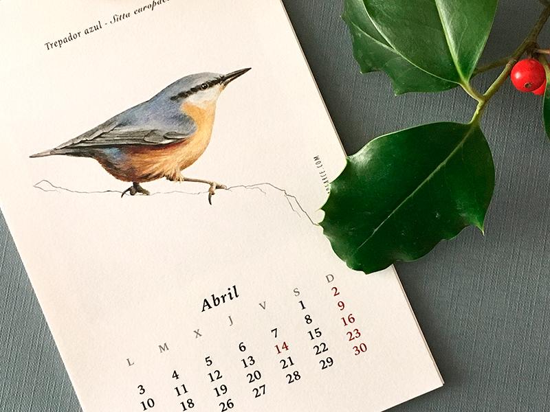 Calendario 2017 - ©Ala de Arce