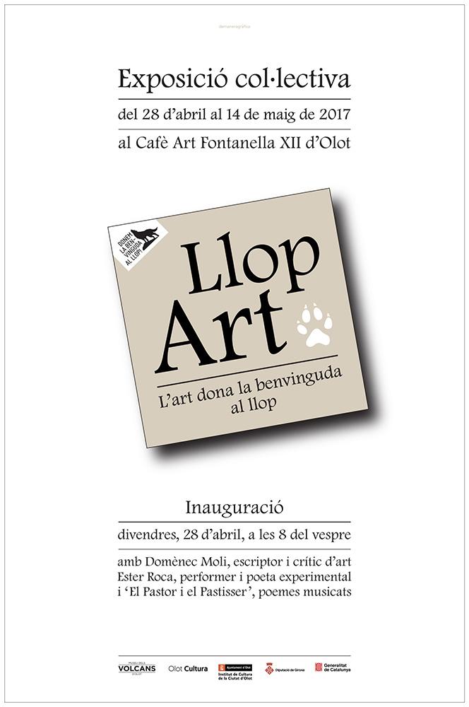 Exposición colectiva Llop Art